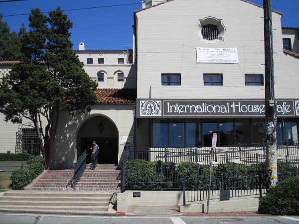 Berkeley's I-House, three blocks from my old house, where I used to hold office hourse and lsat tutoring.